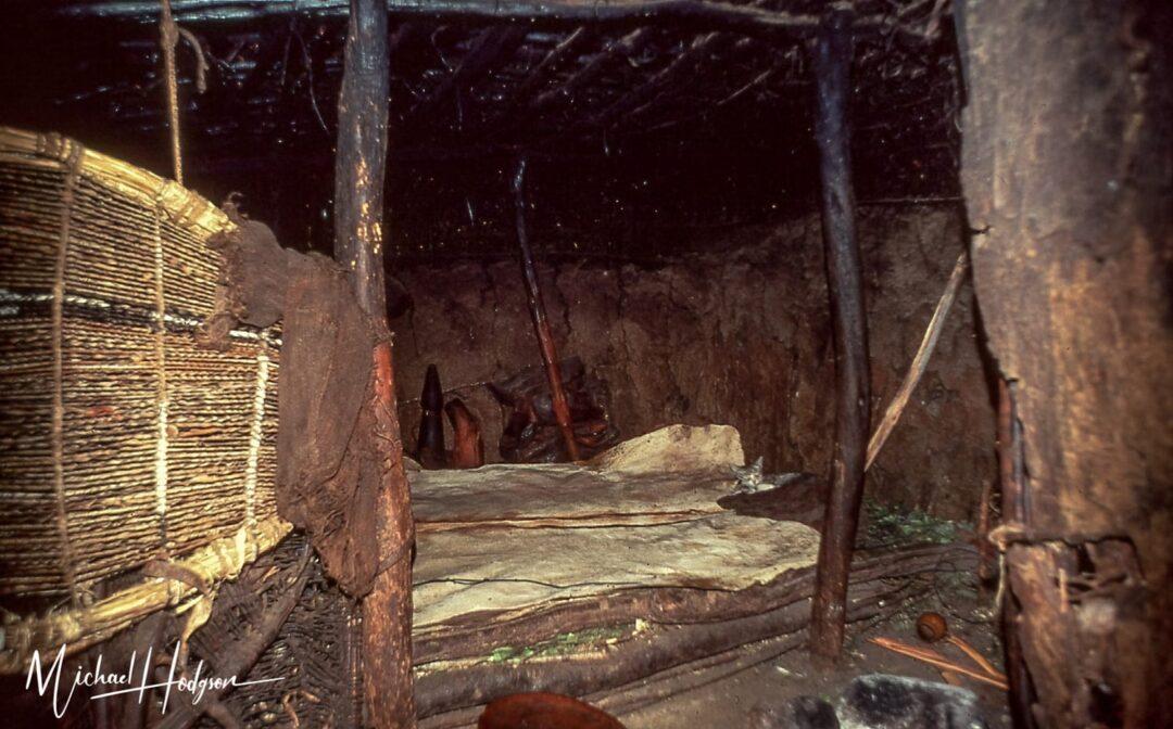 Samburu Manyatta Bed 1978 Kenya Trip