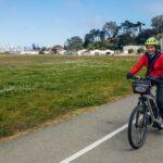 Biking the Presidio and San Francisco waterfront on electric bikes