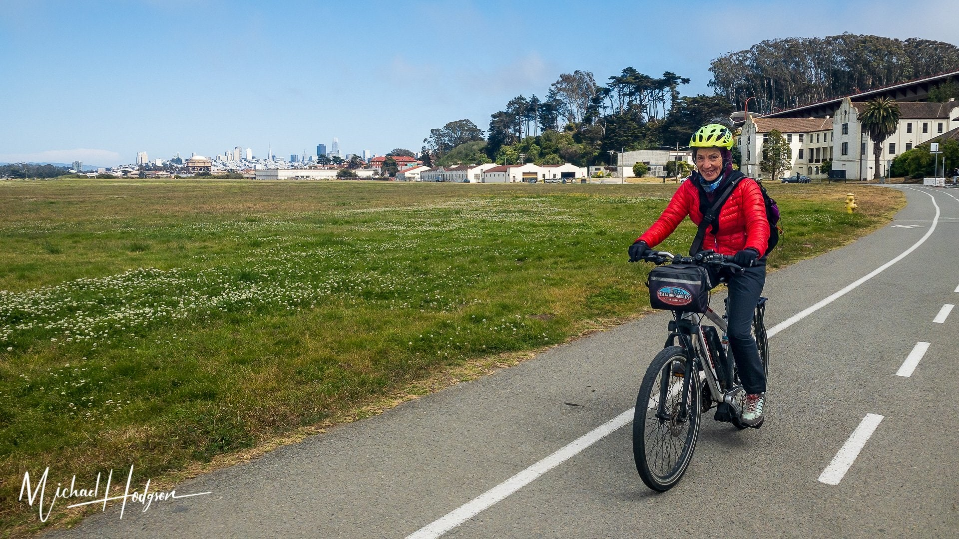 San Francisco Biking The Presidio Therese Iknoian