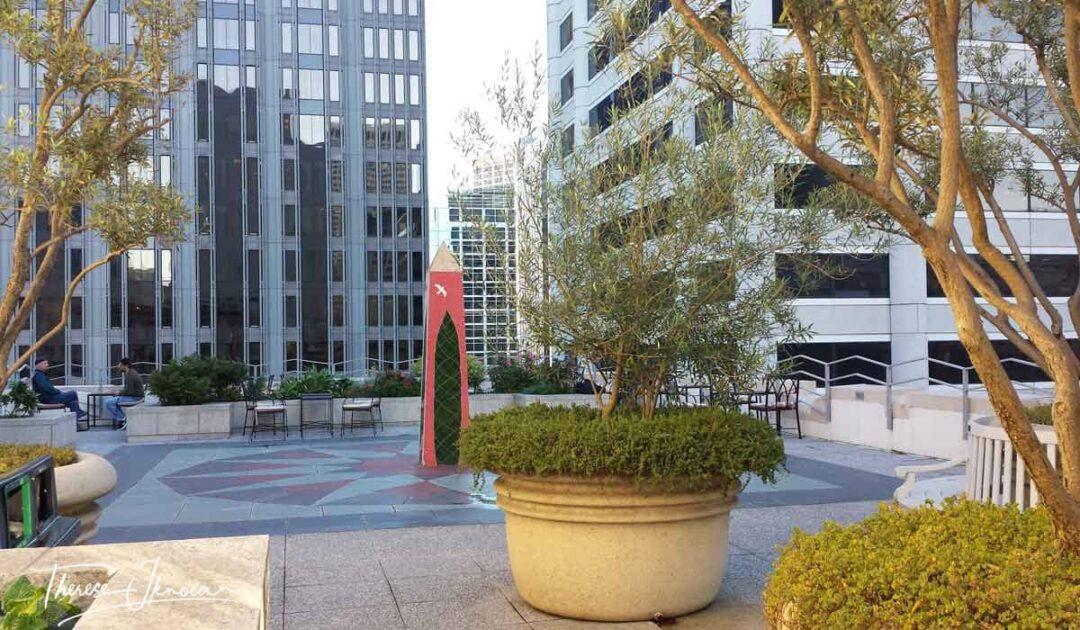 San Francisco Secret Gardens Sansome Rooftop