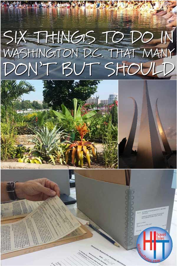 Six Things To Do In Washington DC