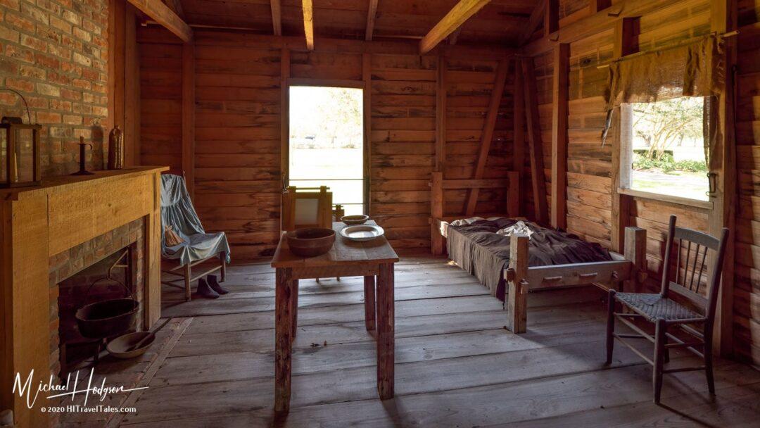 Slave Cabin At Oak Alley Plantation