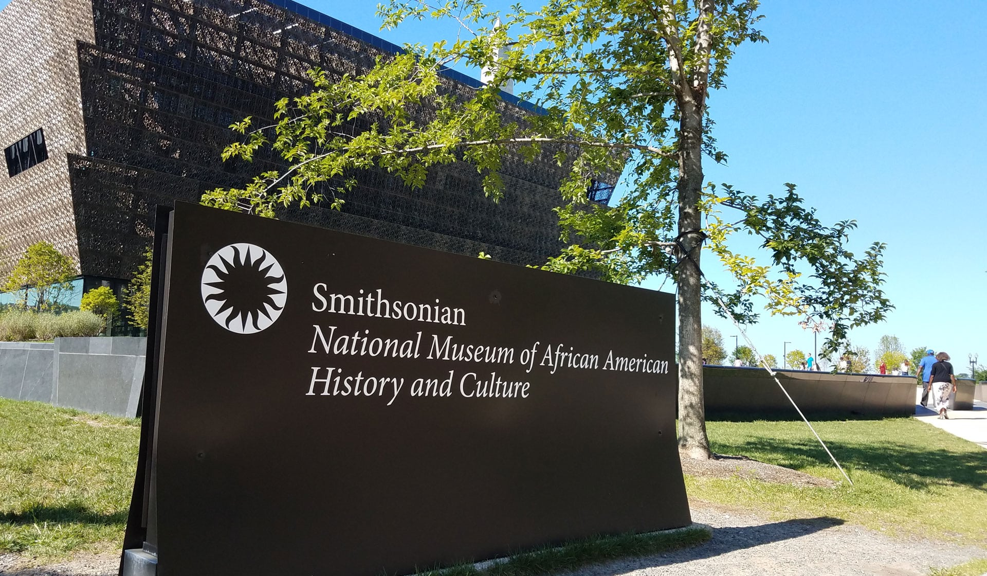 Visiting the Smithsonian's Museum of African American history
