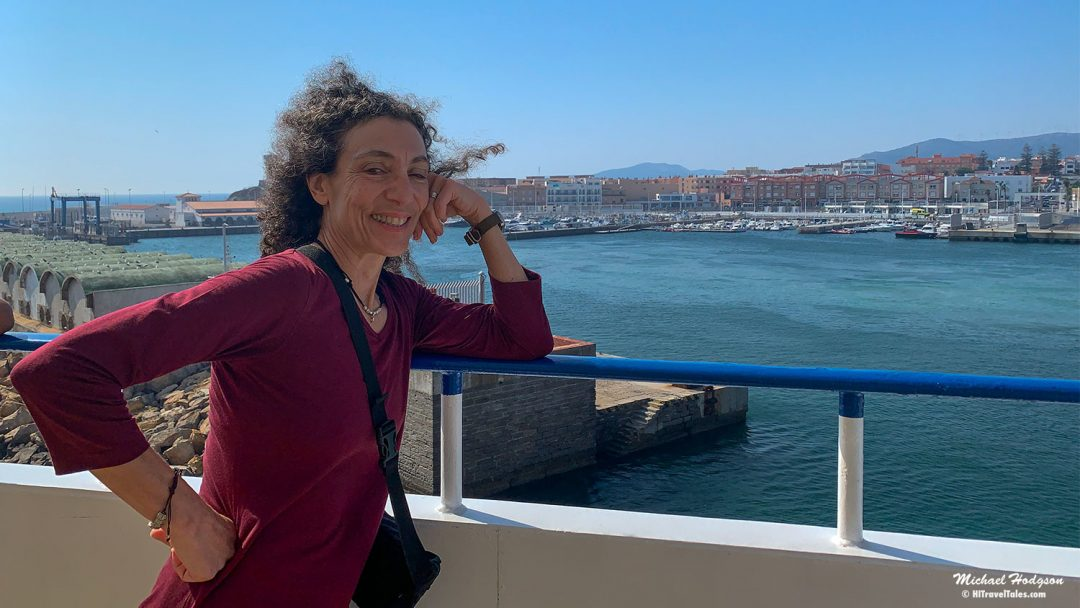 Spain To Tangier Morocco Tarifa Ferry Therese