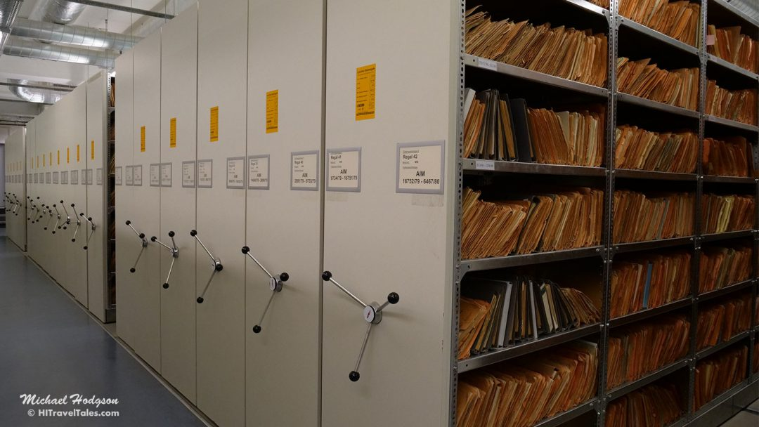 Stasi Archives Files Room
