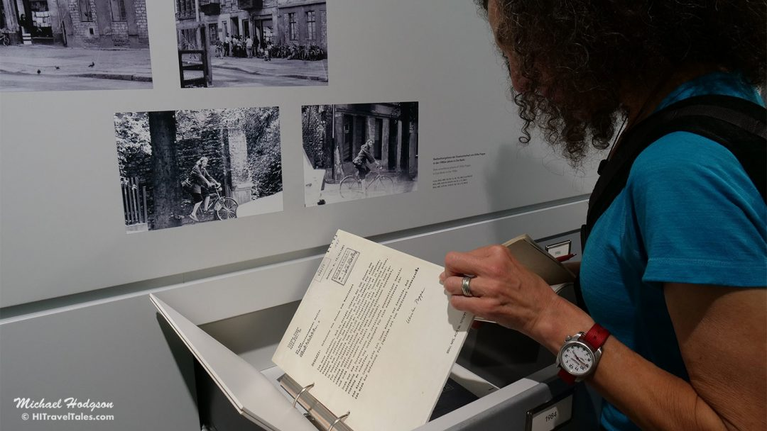 Stasi Archives Therese Reviews Letters