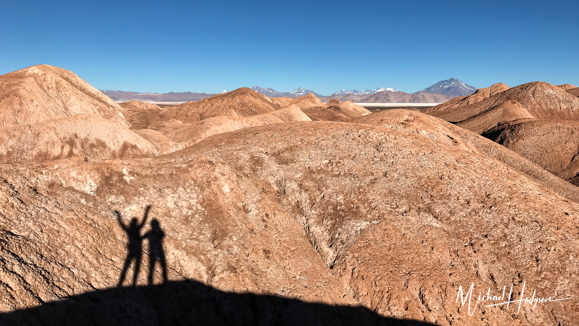 Sustainable Travel Tolar Grande Shadow Selfie