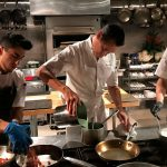 Dining at The Kitchen, a Michelin star restaurant in Sacramento