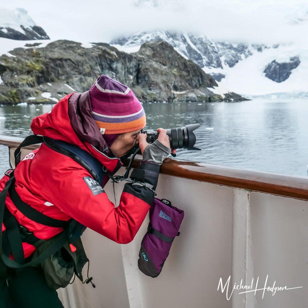 Therese Iknoian Camera Antarctica