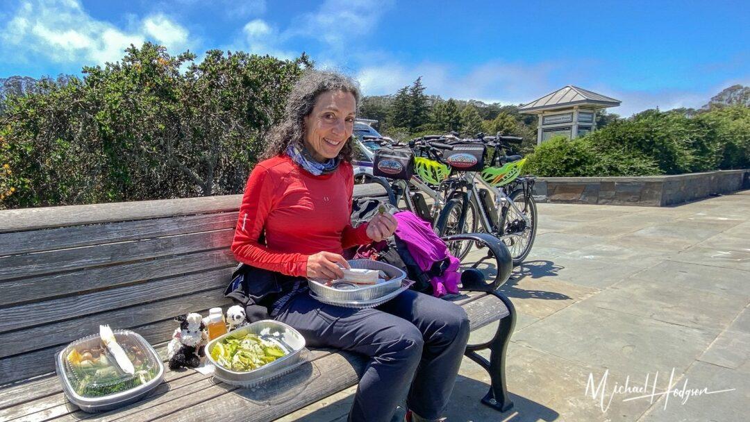 Therese Iknoian Inspiration Overlook Presidio Bike Picnic