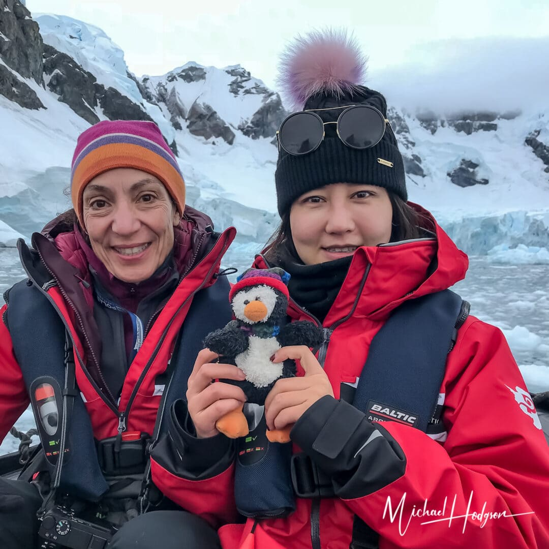 Therese Iknoian Pingo Paradise Bay Antarctica