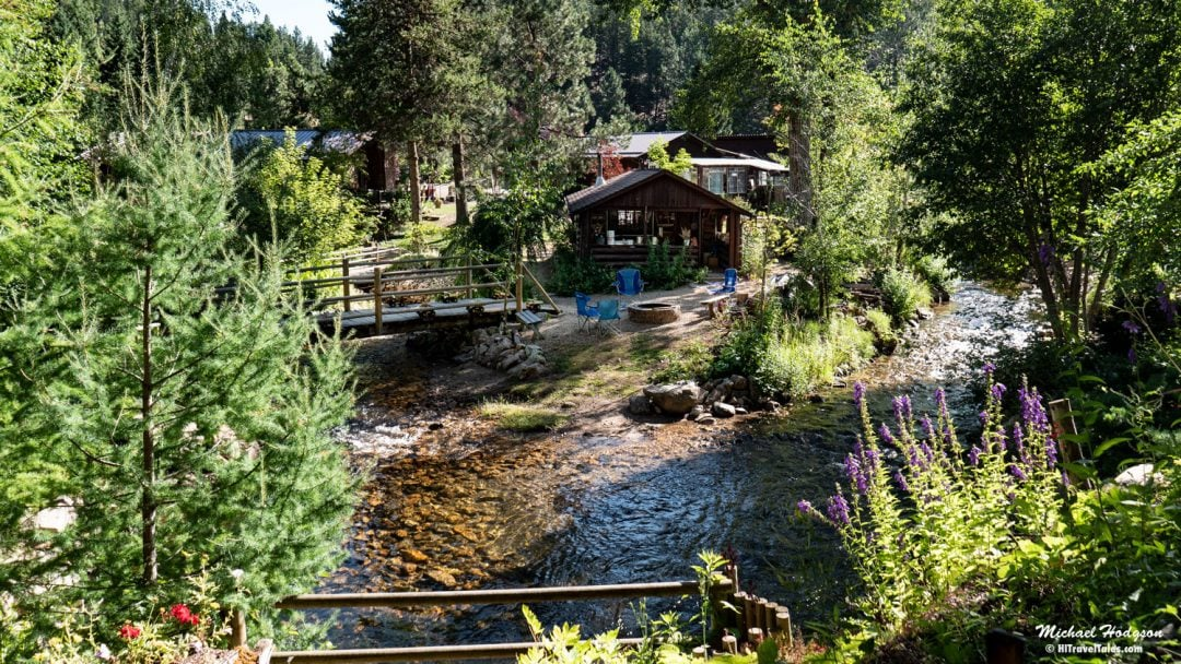Tizer Gardens Helena Montana Cabins And Creek