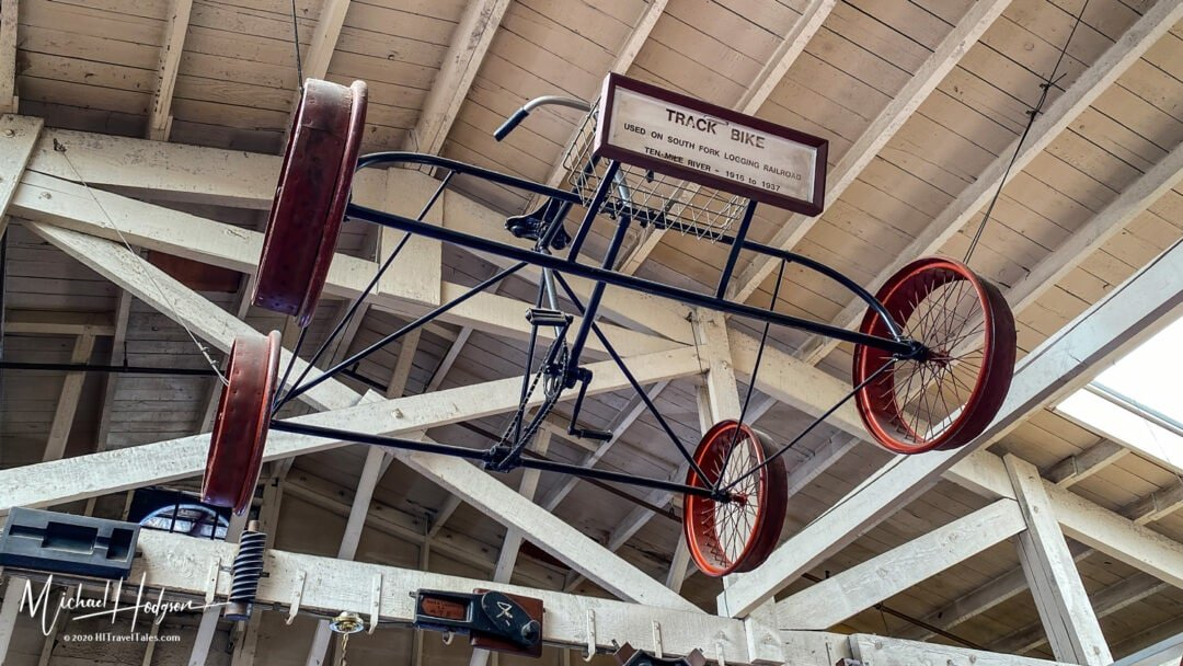 Track Bike Used On South Fork Logging Railroad