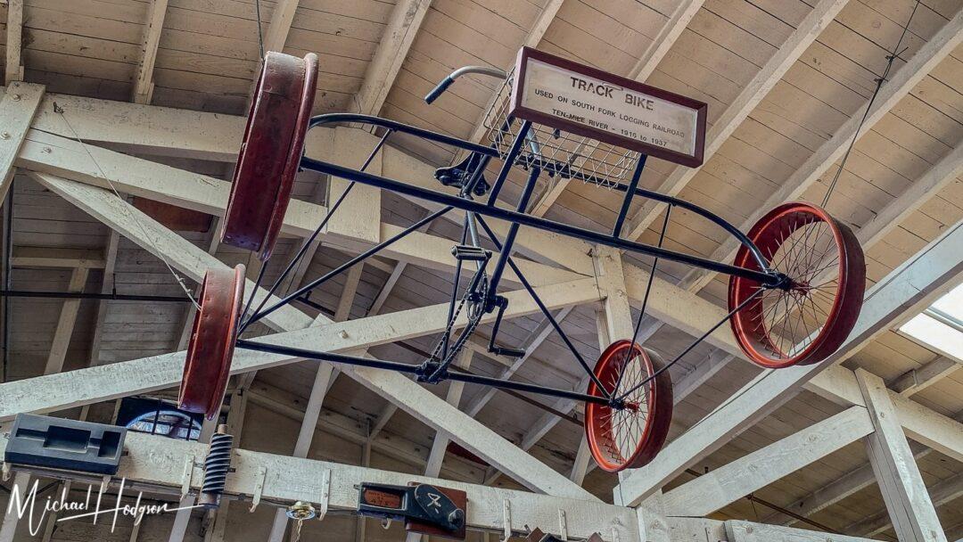 Track Bike Historic Railbike Mendocino