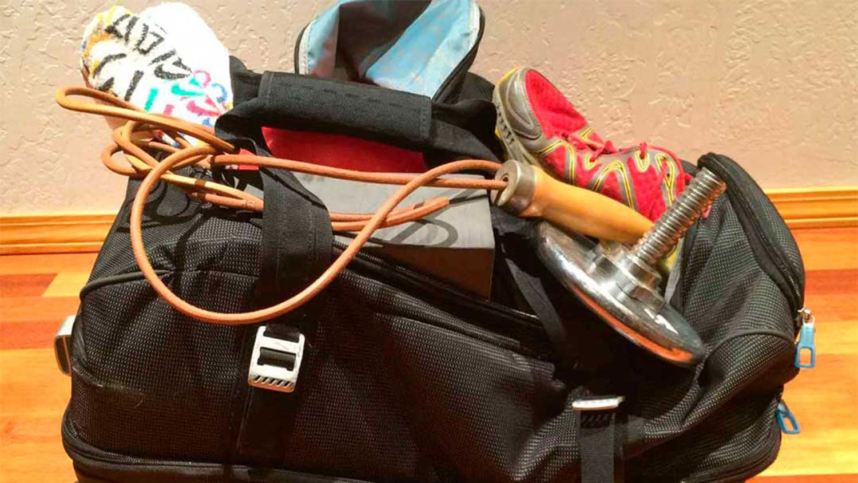 Travel Fitness Advice Luggage