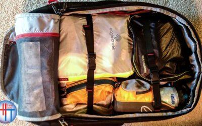 Travel Organization Tips: Cube, compress, fold, roll