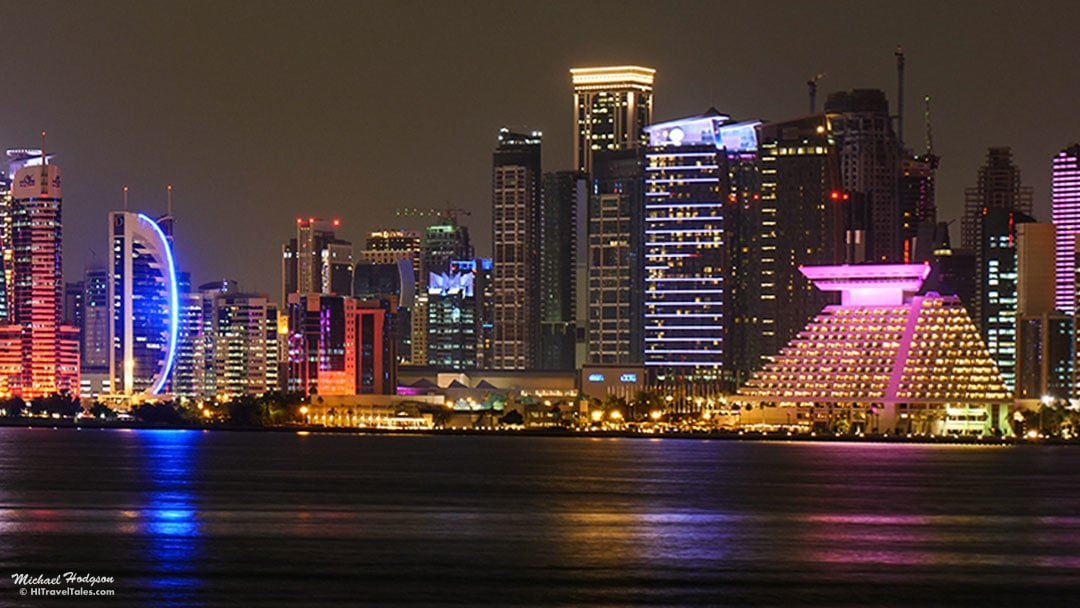 What To Do In Doha Qatar Night View