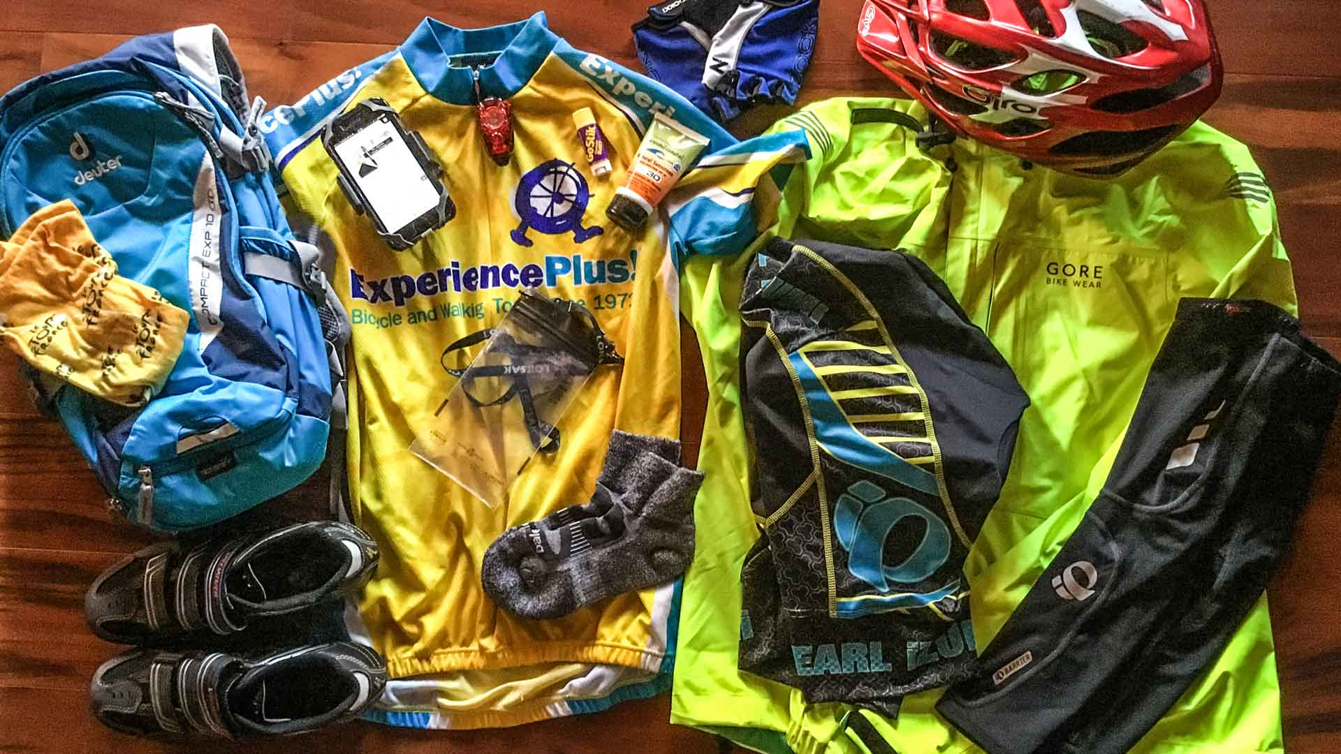 What To Pack Bike Tour Packing List