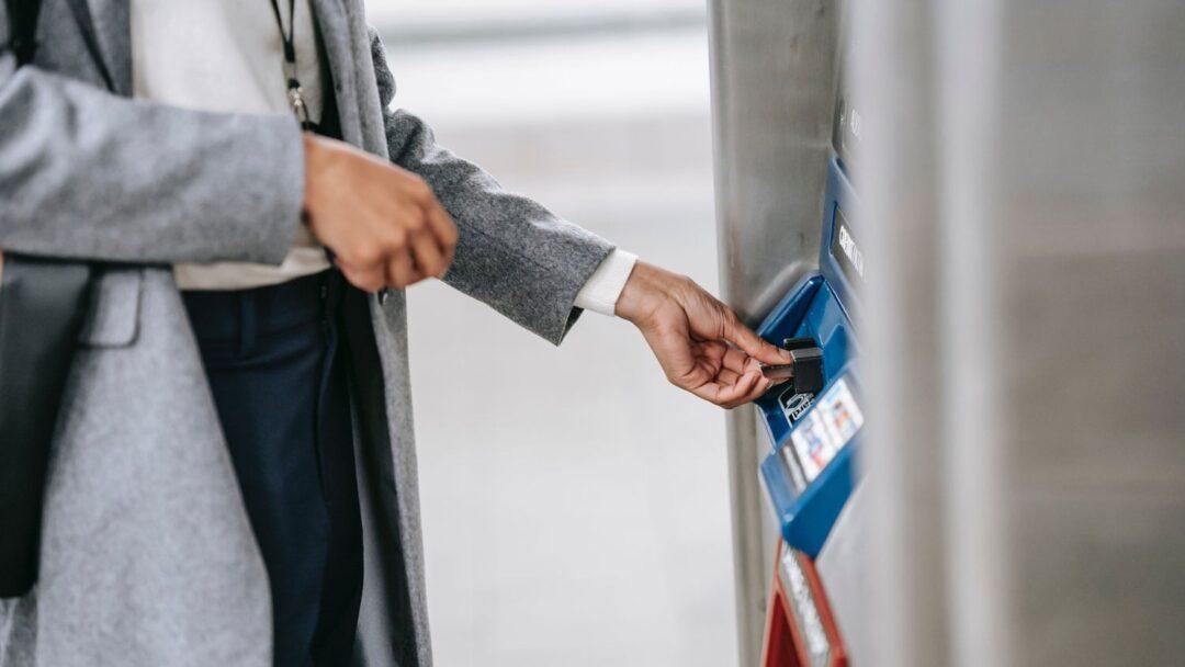 Withdrawing Money When Traveling Atm Pexels Ono Kosuki