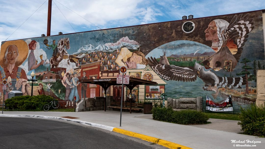 Women's Mural Ion Last Chance Gulch In Helena Montana